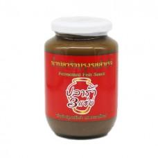 Fermented Fish Sauce 3 Zapp 560ml ปลาร้า 3 แซ่บ