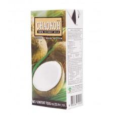 Chaokoh Coconut cream UHT 1 litre กะทิ ในกล่องยูเอชที ตราชาวเกาะ ขนาด 1 ลิตร