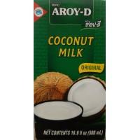 Aroy-D Coconut Milk UHT 500ml กะทิ ในกล่องยูเอชที 500 กรัม ตราอร่อยดี