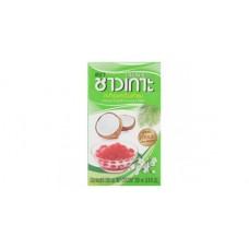 Chaokoh Candle Scented Coconut milk UHT 250ml กะทิอบควันเทียน ตราชาวเกาะ ขนาด 250 มล.