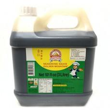 Golden Mountain Seasoning Sauce 3 litres ซอสภูเขาทองฝาเขียว ขนาดแกลลอน 3 ลิตร