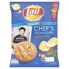 Lay Khua King curry pizza potato chip